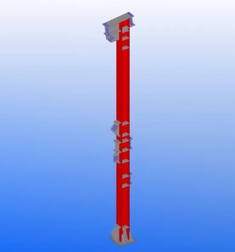 Металлические сварные колонны